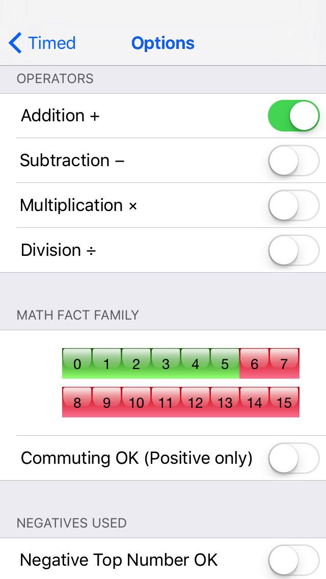 Math Recall App - 4
