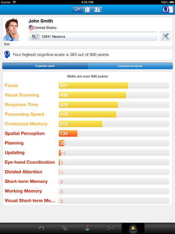 CogniFit Brain Fitness for iPad-2