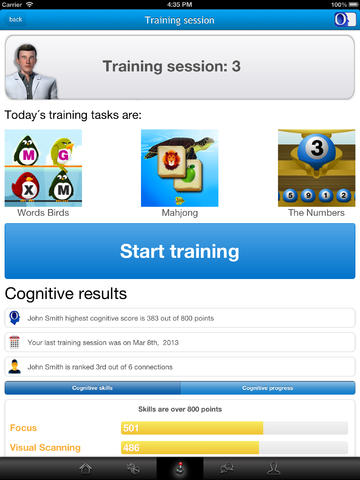 CogniFit Brain Fitness for iPad-3