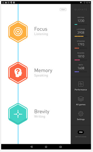 Elevate - Brain Training App - 2