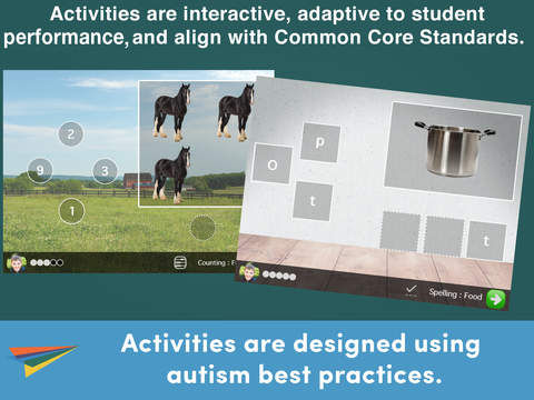 Autism Core Skills: A curriculum to teach academic, social, and communication skills, collect data, and individualize lessons. By Infiniteach.-2