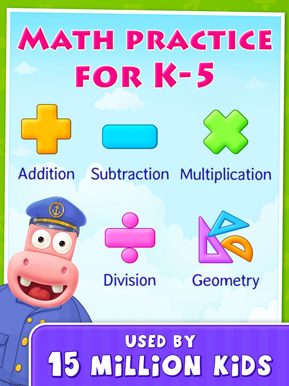 Grades K to 5 Summer Math Learning Games for Kids