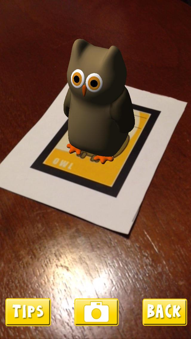 AR Flashcards App - 3