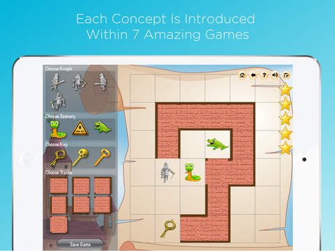 Junior Coder - Visual programming games and coding for kids App - 3