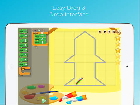 Junior Coder - Visual programming games and coding for kids App - 4