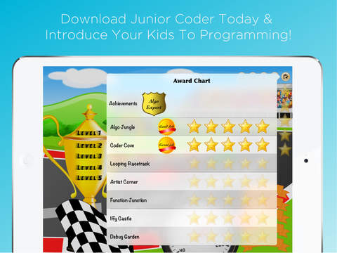 Junior Coder - Visual programming games and coding for kids App - 5