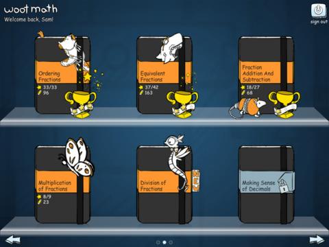 Woot Math App - 1