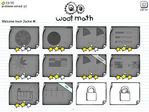 Woot Math App - 2