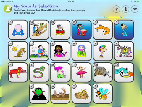 Speech Sounds For Kids - Australian Edition App - 1