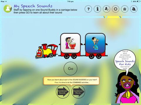 Speech Sounds For Kids Lite - Australian Edition App - 1
