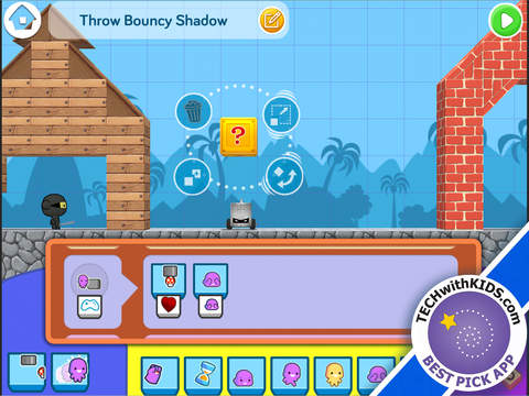 The Foos Coding 5+ | Make games! Kids learn programming logic. Free App - 2
