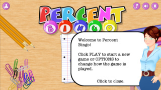 Percent Bingo App - 1