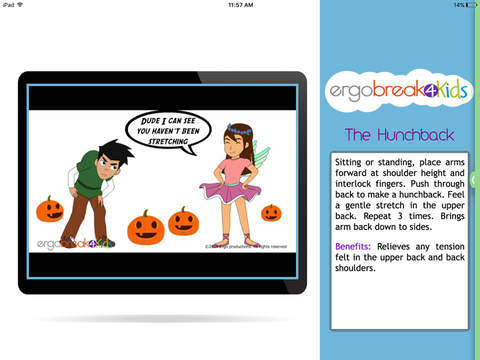 Ergobreak 4 Kids App - 3