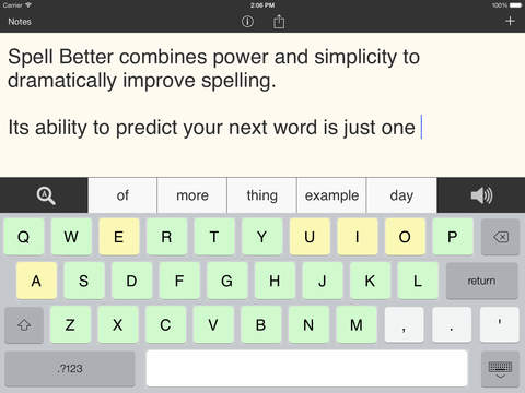 Spell Better - Literacy Support for Dyslexia, Dysgraphia, and Low Vision-1