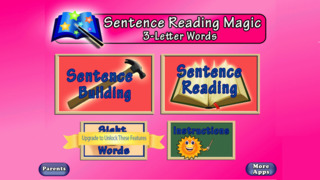 Sentence Reading Magic - Reading Short Vowel CVC words App - 1