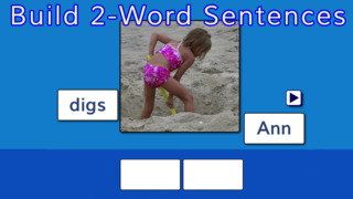 Sentence Reading Magic - Reading Short Vowel CVC words App - 2