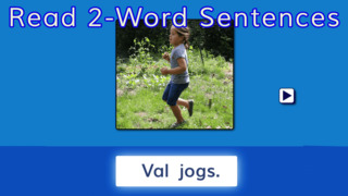 Sentence Reading Magic - Reading Short Vowel CVC words App - 4