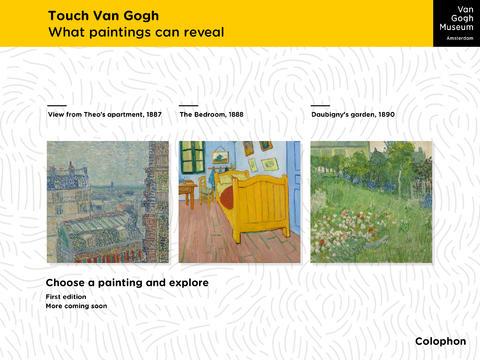Touch Van Gogh App - 1