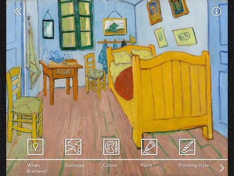Touch Van Gogh App - 2