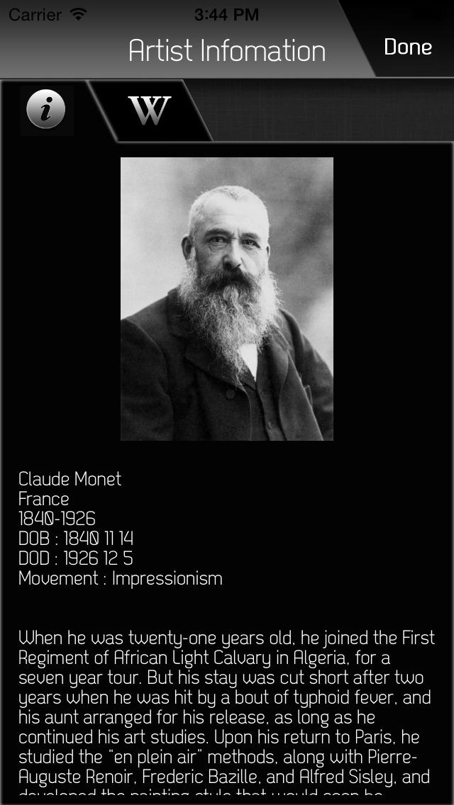 Monet HD App - 5