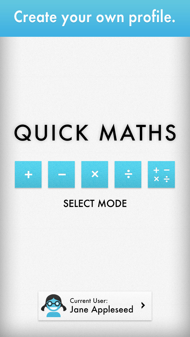 Quick Maths - Arithmetic & Times Table Game