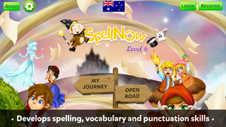 SpellNow Level 6 AU App - 4