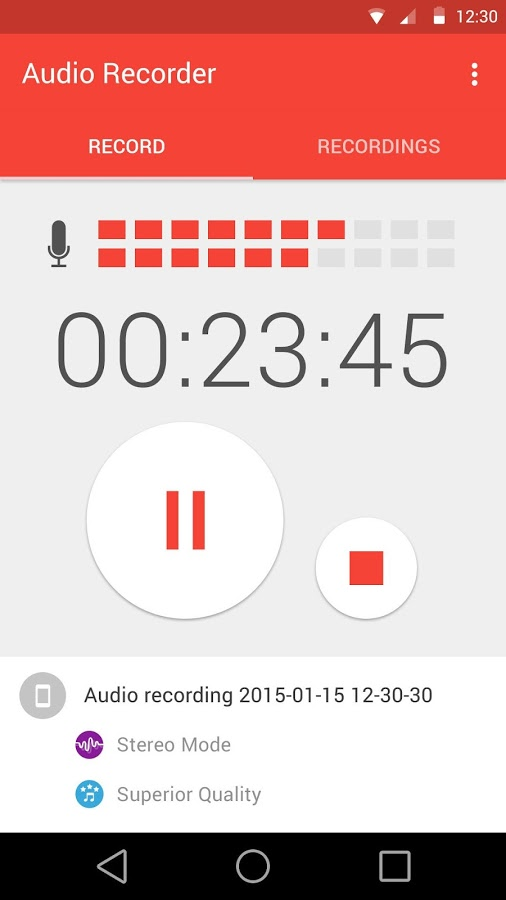 Audio Recorder App - 2