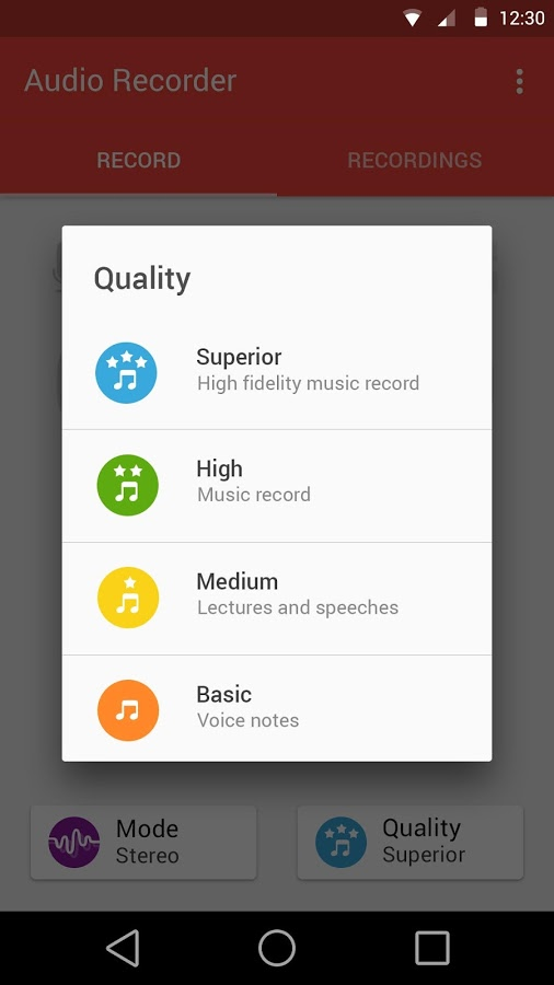 Audio Recorder App - 3