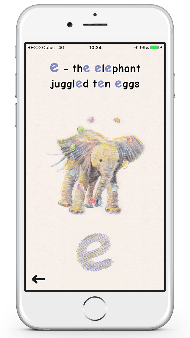Friendly Phonics App - 3