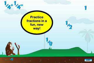 Fraction Monkey - Math Game for Kids App - 1