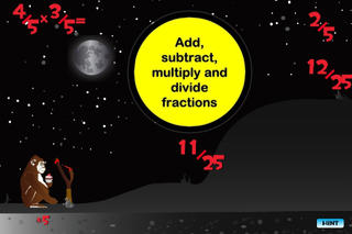 Fraction Monkey - Math Game for Kids App - 3