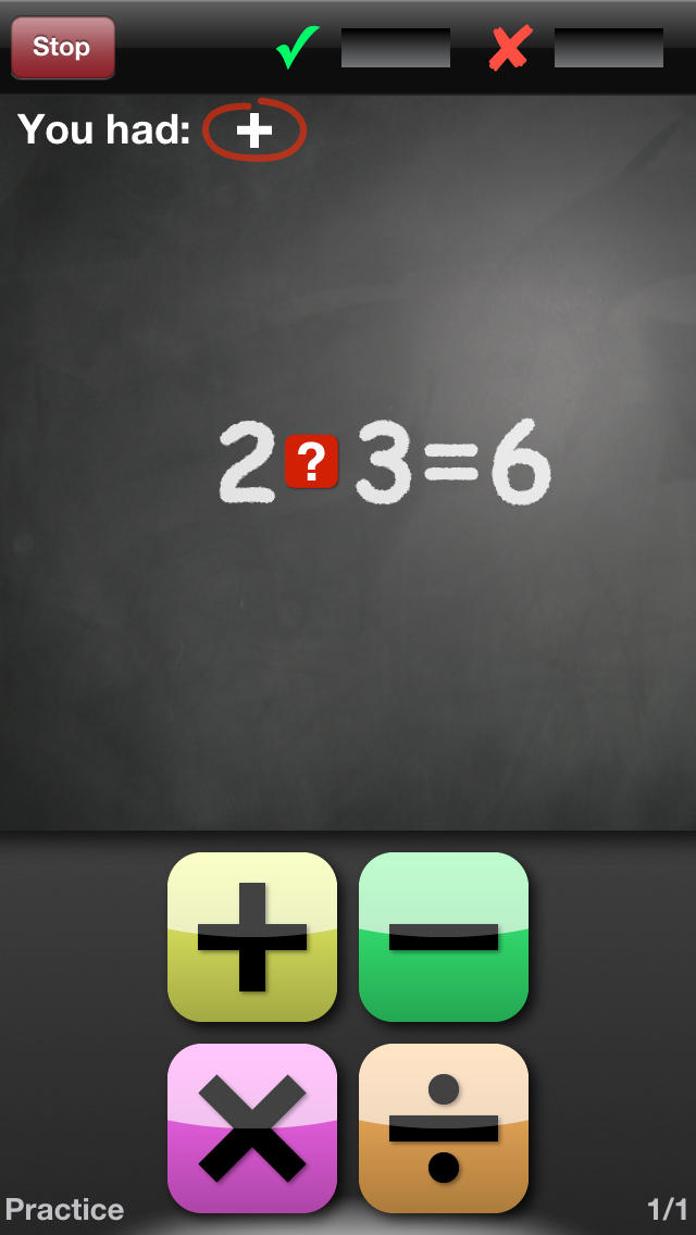 Math Drills App - 3