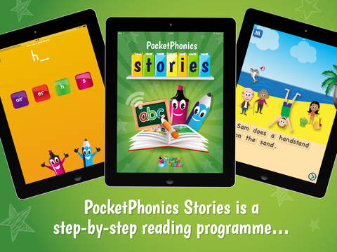 PocketPhonics Stories-1