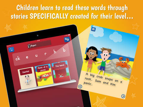 PocketPhonics Stories App - 3