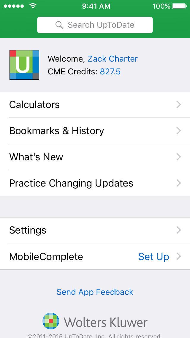UpToDate App - 2