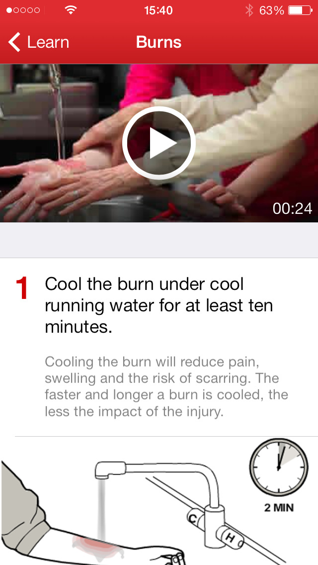 First Aid by American Red Cross App - 2