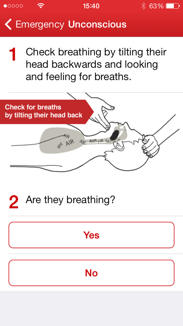 First Aid by American Red Cross App - 3