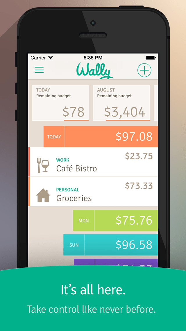 Wally - Smart Personal Finance App - 1