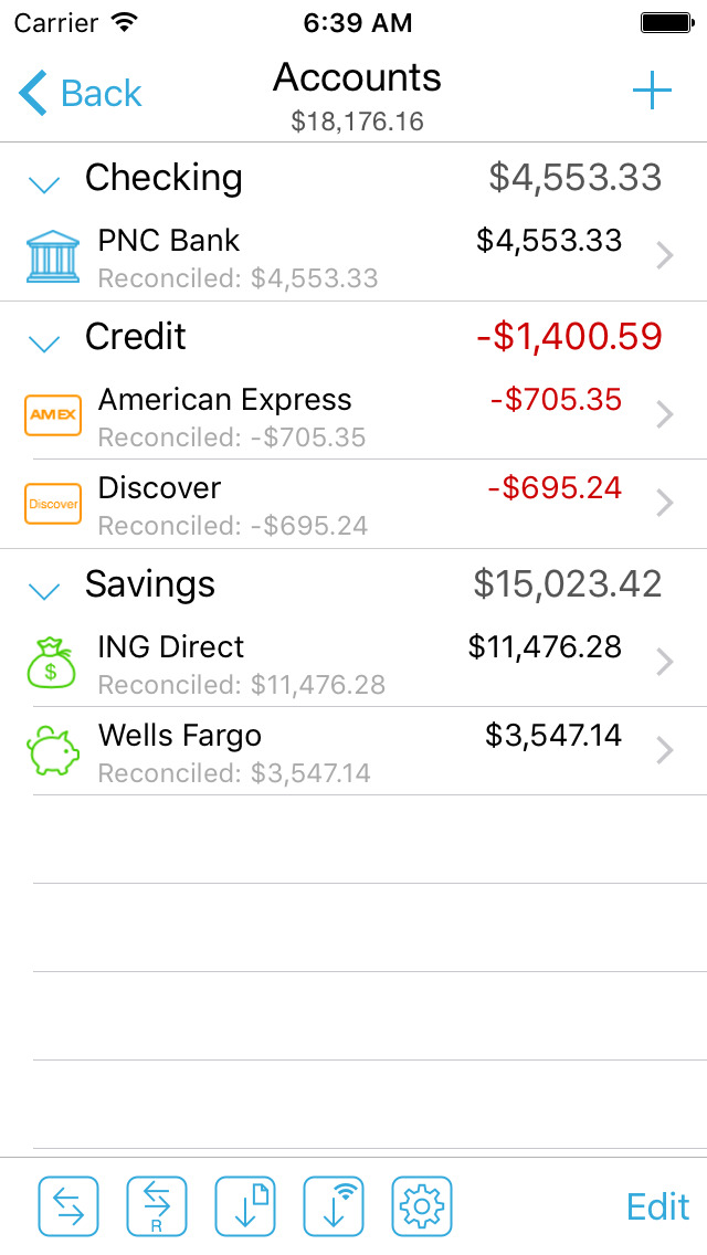 HomeBudget with Sync App - 5