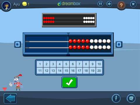 DreamBox Math Green App - 2
