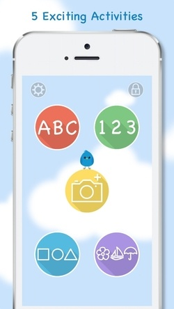 Blue Bird Academy - Flashcard Learning for Toddles App - 3