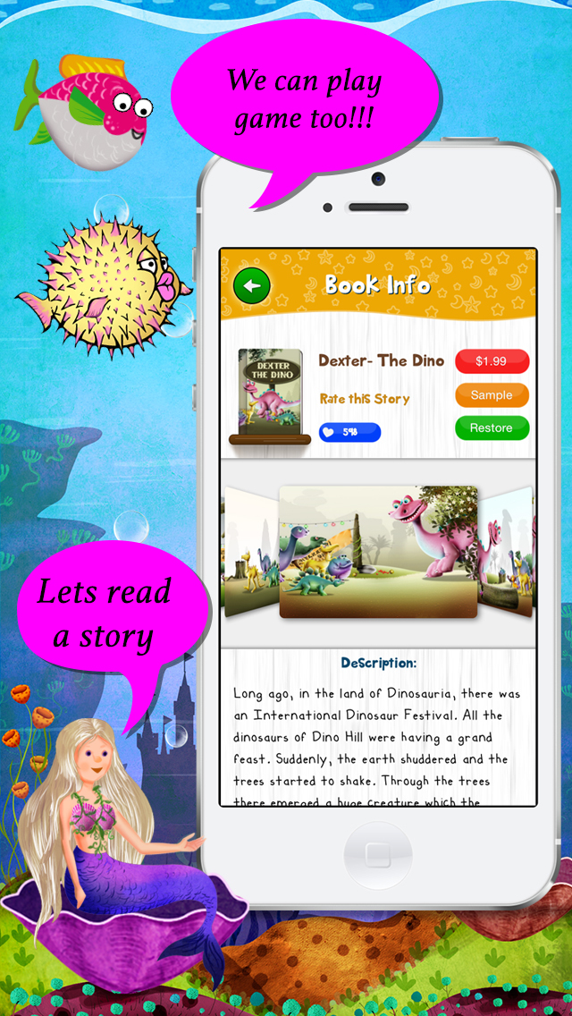 Story Time for Kids App - 2