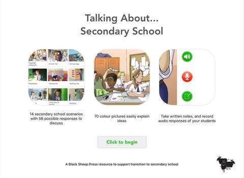 Talking About - Secondary School App - 1