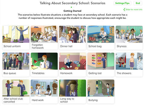 Talking About - Secondary School App - 3