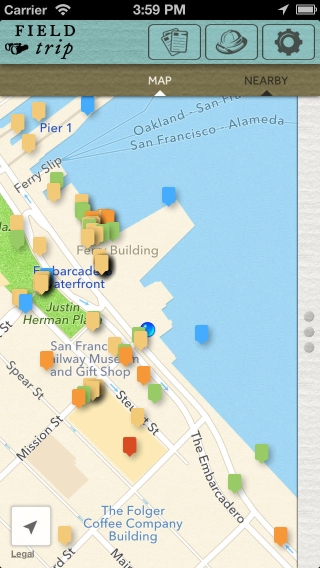 Field Trip App - 4