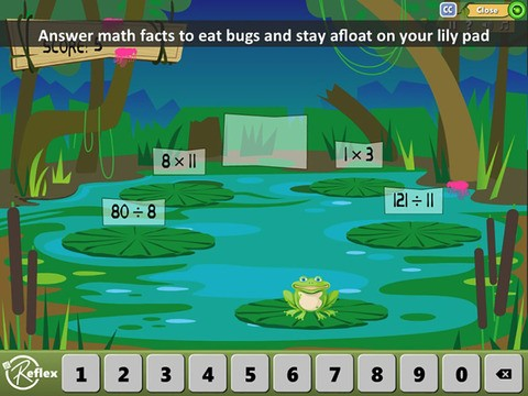 Reflex Math Fact Fluency App - 5