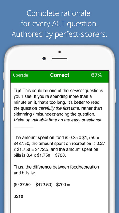 ACT® Test Prep TestBank 36 App - 2