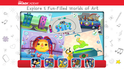 Mickey's Magical Arts World by Disney Imagicademy