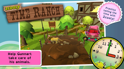 Zcooly Time Ranch - Practice the clock and learn how to tell time-1