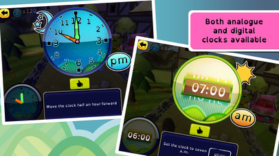 Zcooly Time Ranch - Practice the clock and learn how to tell time-2